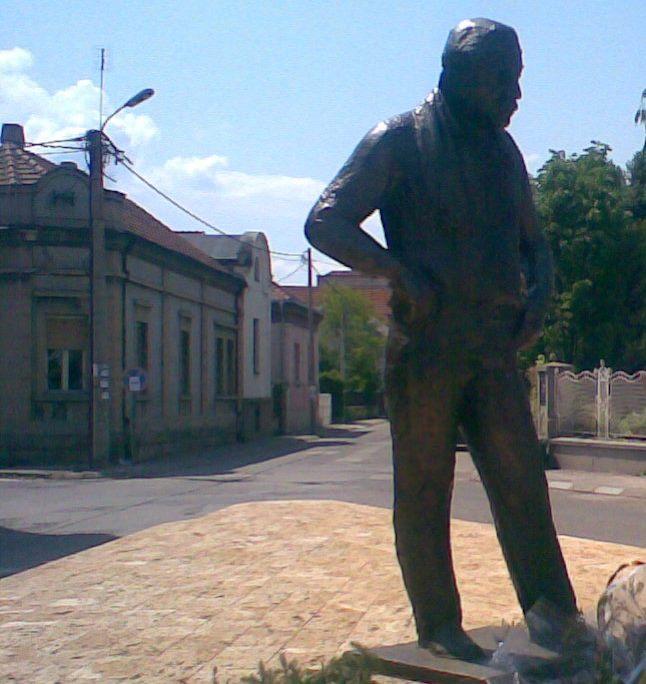 Zoran Radmilović, spomenik u Zaječaru